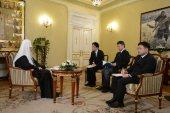 В преддверии Первосвятительского визита в Японию Святейший Патриарх Кирилл ответил на вопросы японских журналистов