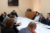 Митрополит Волоколамский Иларион возглавил заседание Общецерковного диссертационного совета