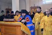 Епископ Железногорский и Льговский Вениамин прибыл к месту служения