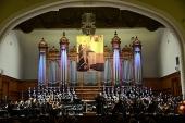 Святейший Патриарх Кирилл посетил мировую премьеру оперы-оратории Г.П. Дмитриева «Святитель Ермоген»