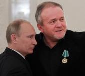 Руководитель международной общественной организации «День Крещения Руси», известный рок-музыкант Олег Карамазов награжден орденом Дружбы