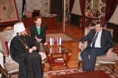 Состоялась встреча председателя Отдела внешних церковных связей Московского Патриархата с Президентом Республики Сербской М. Додиком
