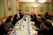 Предстоятель Русской Церкви возглавил заседание Попечительского совета Свято-Тихоновского университета