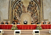 Святейший Патриарх Кирилл возглавил торжественный акт, посвященный 20-летию Православного Свято-Тихоновского гуманитарного университета