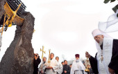 Митрополит Киевский Владимир совершил заупокойную литию по жертвам массового голода