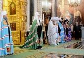 Слово Святейшего Патриарха Кирилла в неделю 25-ю по Пятидесятнице по окончании Литургии в Храме Христа Спасителя