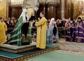 Слово Святейшего Патриарха Кирилла при вручении архиерейского жезла Преосвященному Филарету (Гаврину), епископу Бежецкому и Весьегонскому