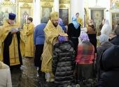 Митрополит Волоколамский Иларион присоединил к Православной Церкви группу людей, временно отпавших от нее
