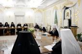 Святейший Патриарх Кирилл провел встречу с архиереями Дальнего Востока и представителем Президента РФ в Дальневосточном федеральном округе