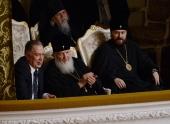 Святейший Патриарх Кирилл посетил концерт фестиваля Владимира Федосеева «Под покровом музыки»