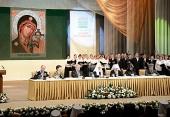 Предстоятель Русской Церкви принял участие в работе Ставропольского форума Всемирного русского народного собора