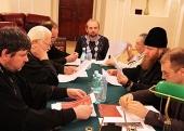В Новоспасском монастыре прошло очередное заседание Научно-редакционного совета по изданию трудов Поместного Собора 1917-1918 годов