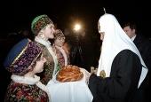 Святейший Патриарх Кирилл прибыл в Калининград