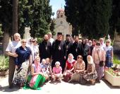 Епископ Подольский Тихон с группой богомольцев поклонился святыням Греции