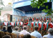 Предстоятель Русской Православной Церкви посетил традиционный детский праздник в Переделкине