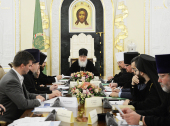 Святейший Патриарх Кирилл возглавил заседание рабочей группы по вопросам участия Русской Православной Церкви в подготовке и проведении Олимпийских и Паралимпийских игр в Сочи