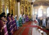 Проповедь Святейшего Патриарха Кирилла в праздник Вознесения Господня в московском храме «Большое Вознесение»