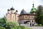 Завершилось пребывание Святейшего Патриарха Кирилла в Пюхтицком монастыре