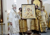 Слово Святейшего Патриарха Кирилла после богослужения в новоосвященном храме в таллинском районе Ласнамяэ