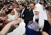 Завершился Первосвятительский визит Святейшего Патриарха Кирилла в Эстонию