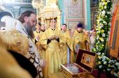 Международный крестный ход, приуроченный к 1025-летию Крещения Руси, прибыл в Ростов-на-Дону