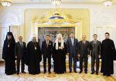 Святейший Патриарх Кирилл принял государственную делегацию Республики Казахстан
