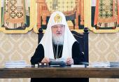 Святейший Патриарх Кирилл: Духовные школы должны быть признаны государством и обществом как научно-интеллектуальные гуманитарные центры