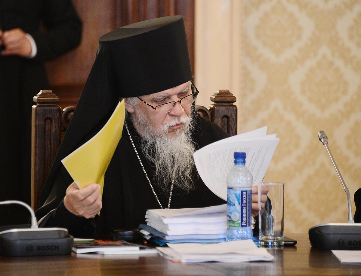 Заседание Высшего Церковного Совета 21 июня 2013 года