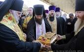 Международный крестный ход, посвященный 1025-летию Крещения Руси, прибыл в Петербург