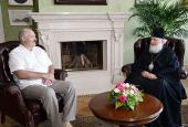 Святейший Патриарх Кирилл и Президент Республики Беларусь А.Г. Лукашенко обсудили вопросы подготовки к 1025-летию Крещения Руси