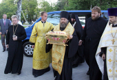 В Калининград прибыл международный крестный ход, посвященный 1025-летию Крещения Руси
