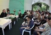 Международный образовательный молодежный форум «Феодоровский городок» проходит под Санкт-Петербургом