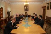 Делегация Католической Церкви в Венгрии посетила в Москве Отдел внешних церковных связей
