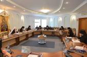 Митрополит Минский и Слуцкий Филарет открыл очередное заседание Синода Белорусской Православной Церкви
