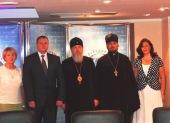 Председатель Синодального комитета по взаимодействию с казачеством представил в федеральном агентстве «Россотрудничество» проект «Казаки — скрепа Русского мира»