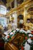 Патриаршее служение в московском храме Рождества Иоанна Предтечи в Ивановском