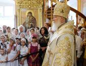 Слово Святейшего Патриарха Кирилла после Божественной литургии в московском храме Рождества Иоанна Предтечи в Ивановском