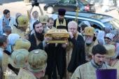Международный крестный ход, посвященный 1025-летию Крещения Руси, прибыл в Одессу