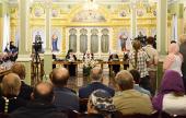 Предстоятель Русской Церкви возглавил заседание Попечительского совета по восстановлению Валаамского монастыря