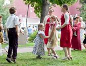 В Москве состоялся общегородской молодежный праздник «День семьи, любви и верности»