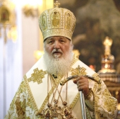 Слово Святейшего Патриарха Кирилла в Казанском соборе Санкт-Петербурга после торжественной встречи Креста апостола Андрея Первозванного