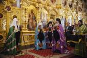 Слово Святейшего Патриарха Кирилла после Литургии в Преображенском соборе Валаамского монастыря