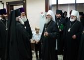 Предстоятель Сербской Православной Церкви прибыл в Москву