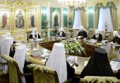 ЖУРНАЛЫ заседания Священного Синода от 16 июля 2013 года