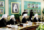 Заседание Священного Синода Русской Православной Церкви от 16 июля 2013 года