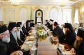 Состоялась встреча Предстоятелей Русской и Сербской Православных Церквей