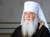 Патриаршее поздравление митрополиту Иову (Тывонюку) с 45-летием служения в священном сане
