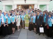 Святейший Патриарх Кирилл встретился с участниками VI Международного съезда «Содружества православной молодежи»