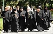 Делегация Сербской Православной Церкви посетила Московские духовные школы и художественно-производственное предприятие «Софрино»
