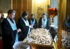 Патриаршее служение в канун праздника Казанской иконы Божией Матери в Богоявленском кафедральном соборе г. Москвы